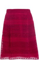 Alberta Ferretti A-line Pocket Skirt