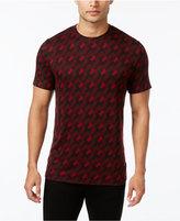 Alfani Men's Jacquard Geometric T-Shirt, Only at Macy's