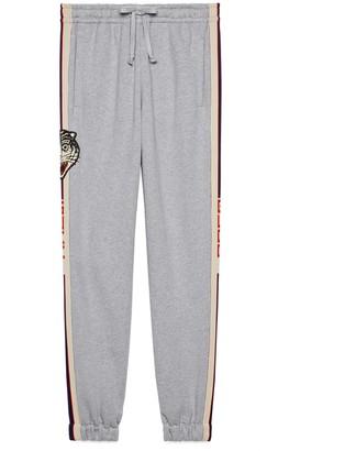 Gucci stripe cotton jogging pant