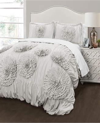 Lush Decor Serena 3Pc King Comforter Set Bedding