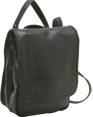 Le Donne Leather Convertible Backpack/ShoulderBag