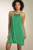 Matte Jersey Bubble Hem Dress