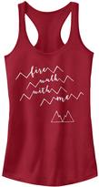 Fifth Sun Scarlet Twin Peaks 'Fire Walk With Me' Tank - Juniors