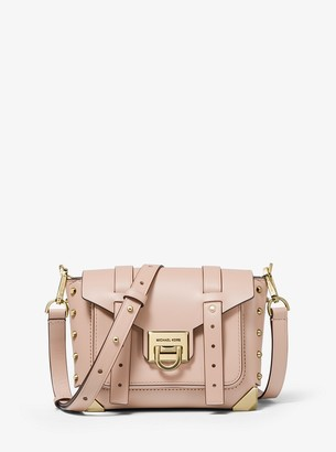 MICHAEL Michael Kors Manhattan Small Leather Crossbody Bag