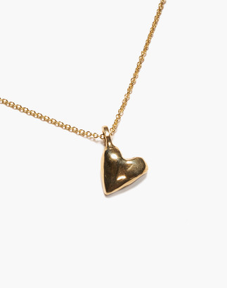 Madewell Odette New York Coeur Heart Pendant Necklace