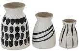 3R Studio Set of 3 Stoneware Vases