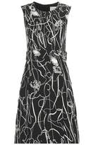 Jason Wu Embellished crêpe dress
