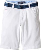 Tommy Hilfiger Dagger Stretch Twill Shorts (Toddler/Little Kids)