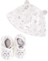 Little Marc Jacobs sea cow hat set - kids - Cotton - 3 mth