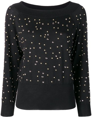 Elie Saab Stud Detailed Jumper
