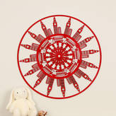 Floppsie Moppsie London Themed Laser Cut Wooden Wall Art
