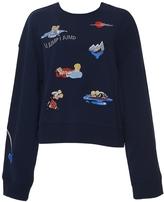 Ground Zero Titanic Embroidered Sweatshirt