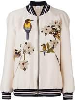 Vilshenko embroidered bomber jacket