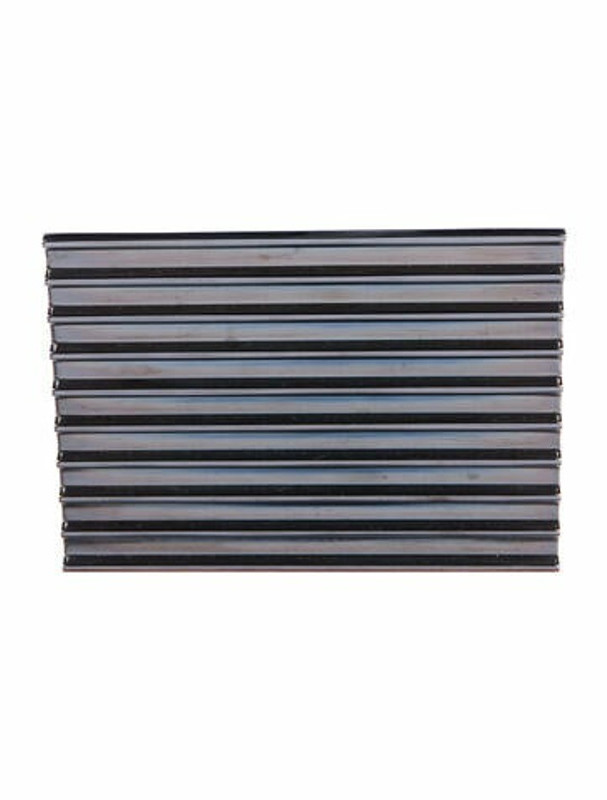 Thumbnail for your product : Lee Savage Metal Box Clutch Grey
