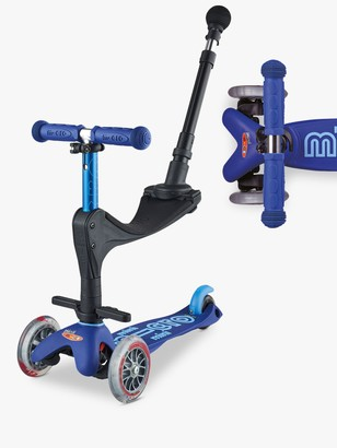 Mini Micro 3-in-1 Deluxe Push Along Scooter, 1-5 years