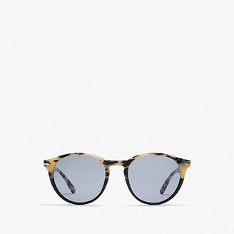 Persol 0PO3152S (Black/Polarized Green) Fashion Sunglasses
