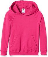 Fruit of the Loom Kids Lighweight Hooded Sweatshirt - 11 C - 1415