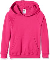Fruit of the Loom Kids Lighweight Hooded Sweatshirt - 11 Colours - 1213