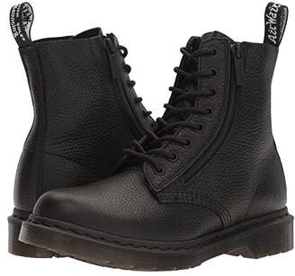 Dr. Martens Pascal w/ Zip (Black Milled Nappa) Women's Boots