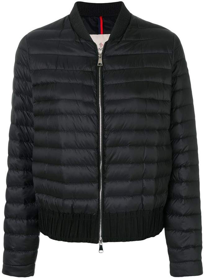 Moncler classic padded bomber jacket