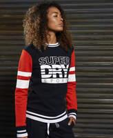 Superdry SD Sport Colour Block Crew Jumper