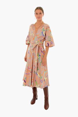 Tanya Taylor Frida Midi Dress