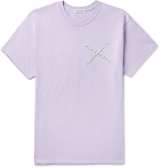 Flagstuff Logo-Print Cotton-Jersey T-Shirt