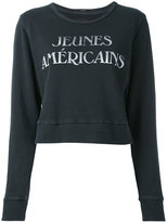 Mother Jeunes Americains sweatshirt - women - Cotton - S