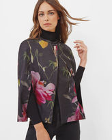HAULIE Citrus Bloom cape