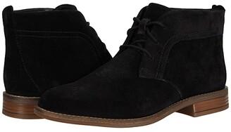 Clarks Camzin Grace (Black Suede) Women's Boots
