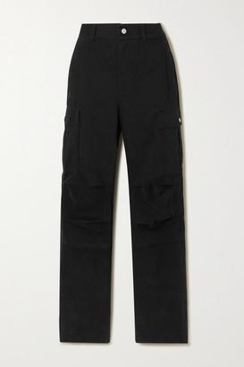 Alexander Wang Cotton-twill Cargo Pants - Black