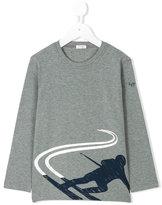 Il Gufo ski print long sleeve T-shirt