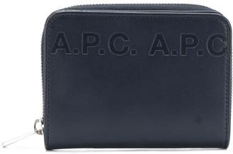 A.P.C. Emmanuel logo wallet