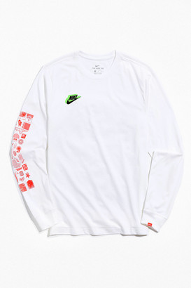 Nike Sportswear Worldwide Graphic Long Sleeve Tee