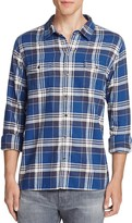 Paige Hunter Flannel Regular Fit Button Down Shirt