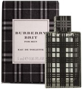 Men's Burberry Brit Miniature Eau de Toilette Spray - 0.16 fl. oz.