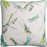 Matthew Williamson Lime & Grey Dragonfly Dance Cushion