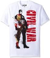 Marvel Mad Engine Men's Civil Mask T-Shirt