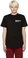 Pyer Moss Black Graphic T-Shirt
