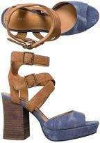 Sbicca Gear Colorblocked Heel
