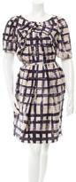 Antonio Berardi Printed Silk Dress