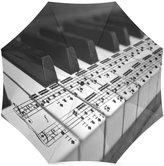 Piano Umbrella Piano Music Custom Folding Portable Outdoor Rain /Sun Umbrella Beach Travel Shade Sunscreen For Women/Men