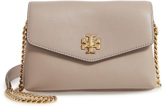 Tory Burch Mini Kira Mixed Leather Crossbody Bag
