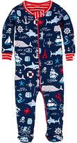 Hatley Baby Vintage Nautical Sleepsuit, Navy