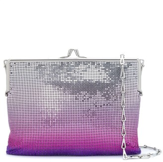 Paco Rabanne Sequin Ombre Print Clutch