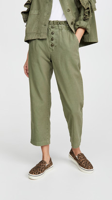 The Great The Eyelet Gunny Sack Trousers