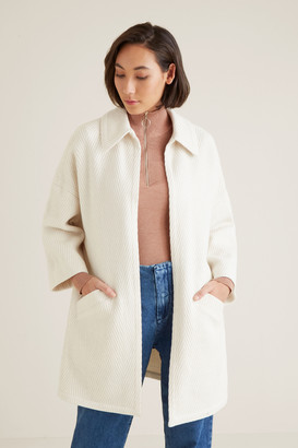 Seed Heritage Textured Relaxed Coat