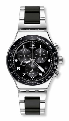Swatch Time (Core) Swiss Quartz Stainless Steel Strap