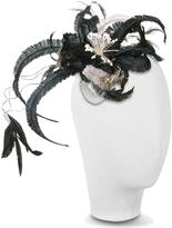 Nana Nana' Cilla - Black and White Flower Comb