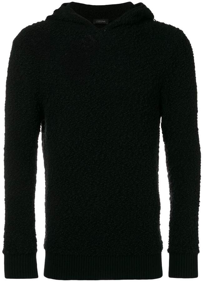 Ermenegildo Zegna hooded jumper